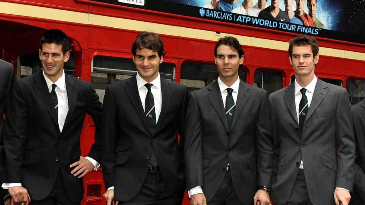 Big Four of Tennis Phot