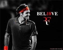 Federer Poster Photo
